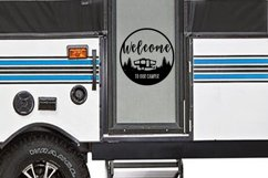 Welcome to Our Camper svg |cut files | Graphic Files Product Image 2