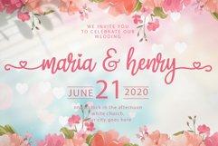 magic love - wedding font Product Image 2