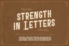 Blacktail - Layered Vintage Font Product Image 3