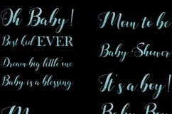 Baby Shower Word Art for Boys Product Image 3