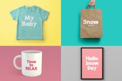 Snowty 3 Font Product Image 2