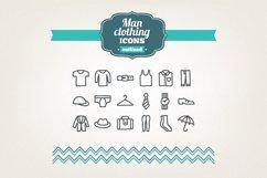 Hand Drawn Man Clothing Icons Product Image 1