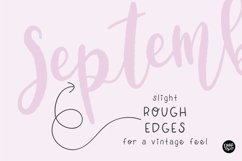 SEPTEMBER BABY a Bold Distressed Farmhouse Font Product Image 4