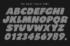 The Wave Font Product Image 3