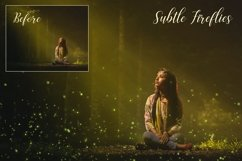 Sparkling firefly photographic overlays Product Image 2