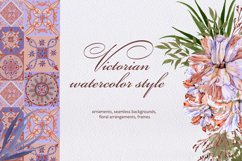 Victorian watercolor style Product Image 1