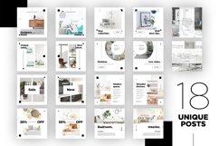 Interior Designer Instagram Posts Template | CANVA Product Image 7