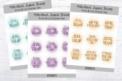 Motivational Planner Stickers- Set #A0 Product Image 1