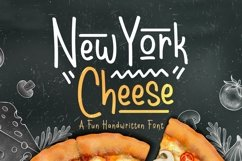 Web Font New York Cheese Product Image 1