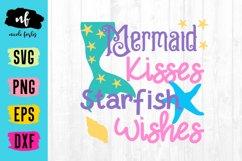 Mermaid Kisses SVG Cut File Product Image 1
