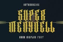 Web Font SUPER MENYOELL Font Product Image 1