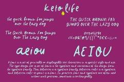 Keto Life Font Product Image 2