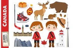 Canada clip art Canadian clipart Canada graphics Maple syrup Product Image 1
