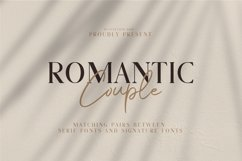 Romantic Couple // Font Duo Product Image 1