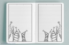 Christmas trees to color - KDP notebook. Product Image 3