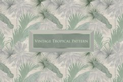 Vintage tropical pattern Product Image 2