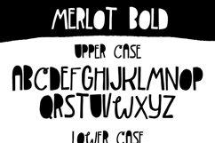 Merlot Font Product Image 4