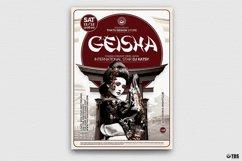 Geisha Party Flyer Bundle V2 Product Image 3