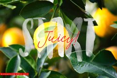 Watercolor Opentype-SVG Font Product Image 5