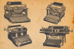 22-hand drawn typewriters Product Image 5