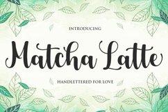 Matcha Latte Script Product Image 1