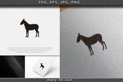donkey, ox logo Designs Inspiration Isolated on White Backgr Product Image 1