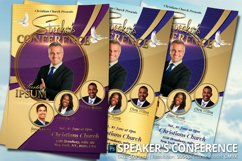 Speaker's Conference Church Flyer Product Image 1