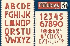 FREUDIAN TYPEFACE Product Image 3