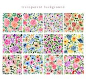 4 in 1 - Floral Watercolor Graphic Bundle Product Image 4