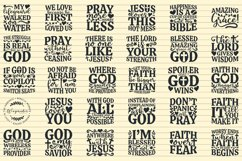 Christian SVG Bundle, Christian Quotes SVG files for Cricut Product Image 2
