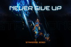 Starzone - SciFi Game Font Product Image 6