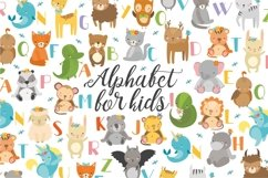 Alphabet animals. Kids alphabet. Baby animals. Letters png Product Image 1