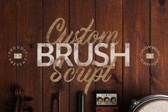 Web Font Custom Brush Script Product Image 1