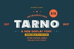 Tarno Display Font Product Image 1