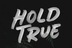 BOLDER - Smallcaps SVG Brush Font Product Image 5
