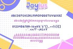 Web Font Joyius Display Product Image 6