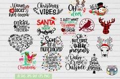 Christmas svg, Nativity Scene, O Holy Night, Santa, Reindeer Product Image 4