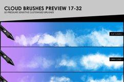 Clouds, Fog, Smoke Photoshop Brushes Product Image 5
