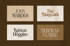 Madegra Serif 9 Weight Font Styles Product Image 5