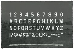 Catatumbo Font Product Image 4