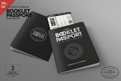Booklet Passport Print MockUp Product Image 1
