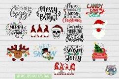 Christmas svg, Nativity Scene, O Holy Night, Santa, Reindeer Product Image 5