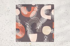 Exotic pineapple seamless pattern Product Image 2