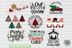 Christmas svg, Nativity Scene, O Holy Night, Santa, Reindeer Product Image 6