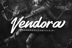 Vendora - Handmade Fontscript Product Image 1