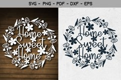 Home Sweet Home Paper Template Design Product Image 1