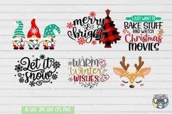 Christmas svg, Nativity Scene, O Holy Night, Santa, Reindeer Product Image 3