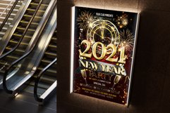 New Year Flyer Product Image 3