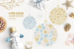 Sparkling snowflakes collection Product Image 6