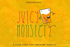 Juicy Monster - A Fun Cute Font Product Image 1